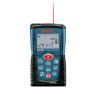 how to use bosch glr225 laser distance measurer
